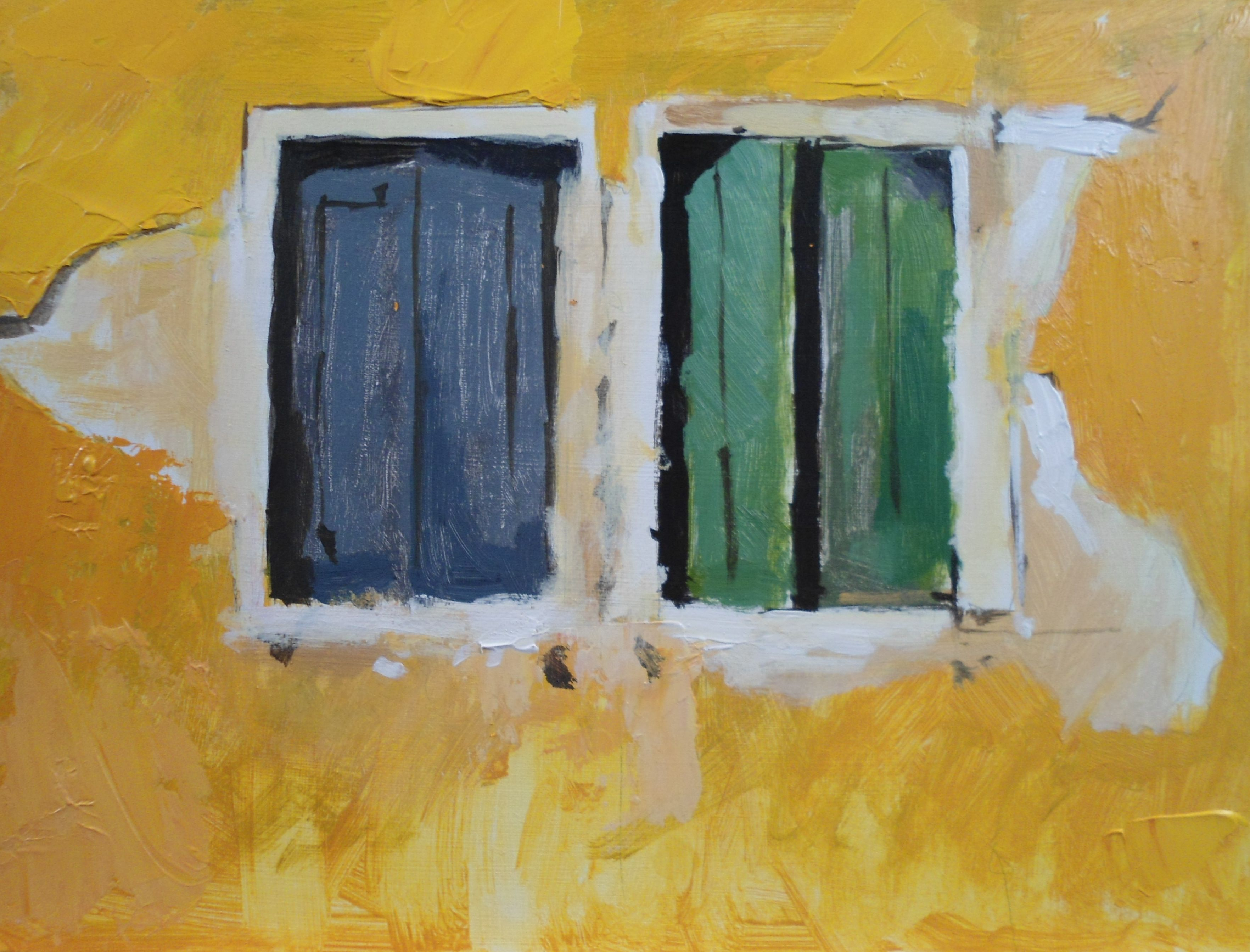 Watercolor artist magazine palm coast fl - These Mediterranean Shutters Form Part Of A Course From Will Kemp On How To Paint Townscapes