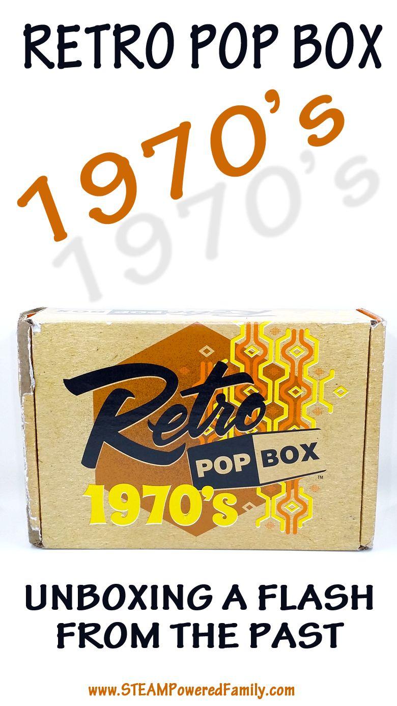 Retro Pop Box - 1970's Edition Unboxing #retropop