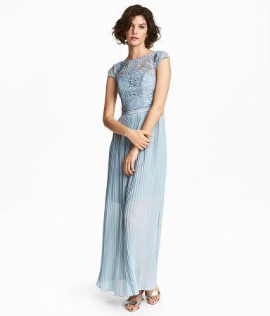 hm lang kjole