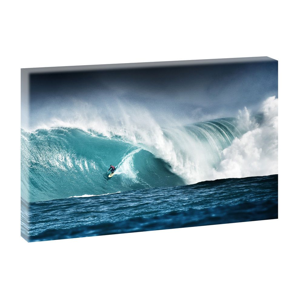 surfing bild von querfarben wellen meer strand poster. Black Bedroom Furniture Sets. Home Design Ideas