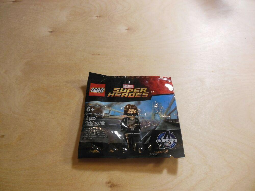 LEGO avengers WINTER SOLDIER minifigure polybag promo MARVEL SUPER HERO 6119216