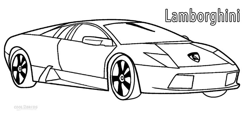 Lamborghini Coloring Pages Cars Coloring Pages Expensive Sports