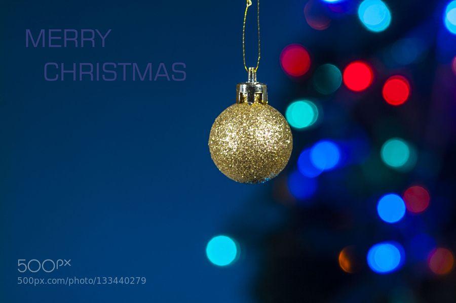 MERRY CHRISTMAS by volodymyrshram