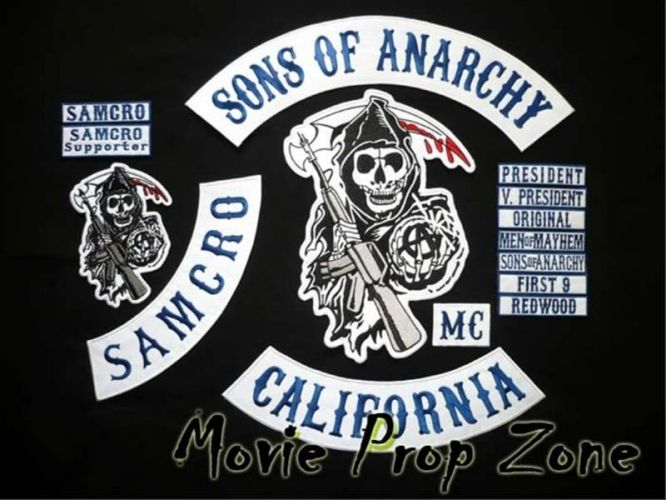Sons Of Anarchy Costume For Sale Son S Of Anarchy 15 Piece Patch Set For Sale In Edmonton Alberta Sons Of Anarchy Costume Sons Of Anarchy Sons Of Anarchy Mc