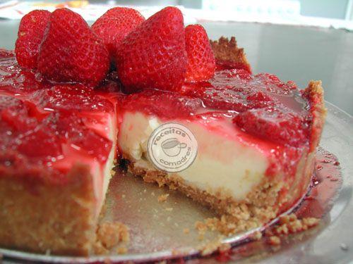 Super easy strawberry pie