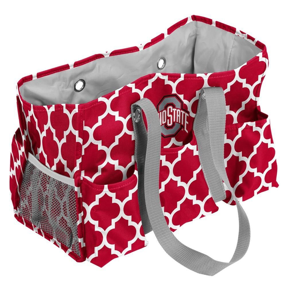Ohio State University Buckeyes Diaper Bag Junior Caddy Tote