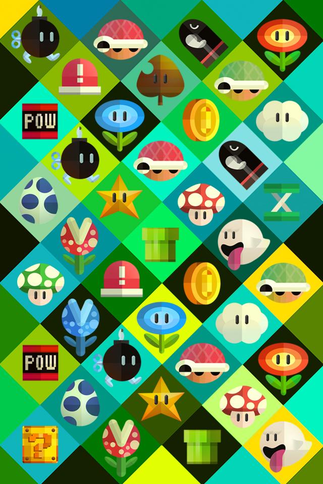 Nintendo Iphone 6 Wallpaper Wallpapersafari Fondos De Pantalla Juegos Fondos De Pantalla De Juegos Mario Bros Fondos