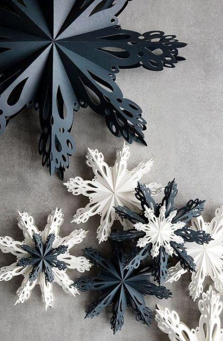 Photo of 65 trendy origami christmas diy snowflake template #snowflakecraft