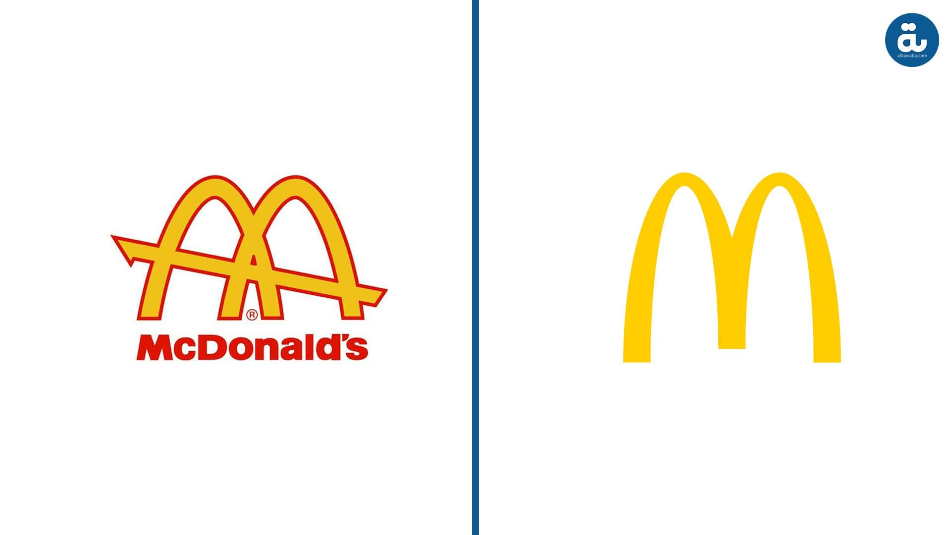 The Before And After Of 10 International Famous Logos Famous Logos One Logo Franchise Restaurants