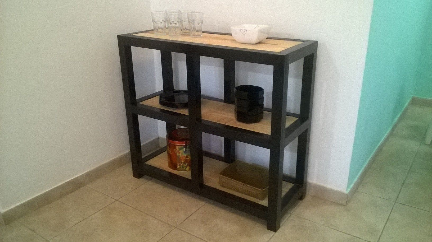 Organizador de cocina o comedor fabricado en ca o for Comedor estructural