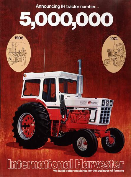 International 1066 Tractor Mailbox Topper