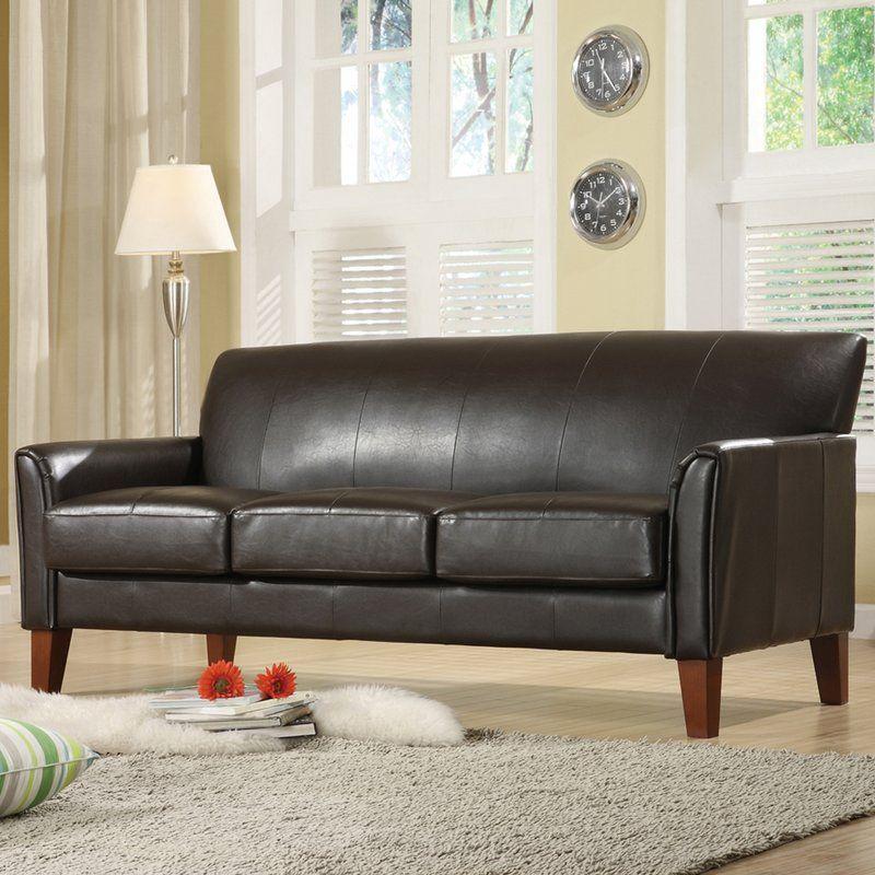 Best Three Posts™ Clintonville Sofa Reviews Wayfair Faux 400 x 300