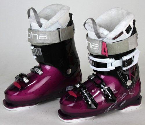 781f027d014b Alpina Ruby (Red) 6 In Temp Womens Ski Boots 24.5 GUC