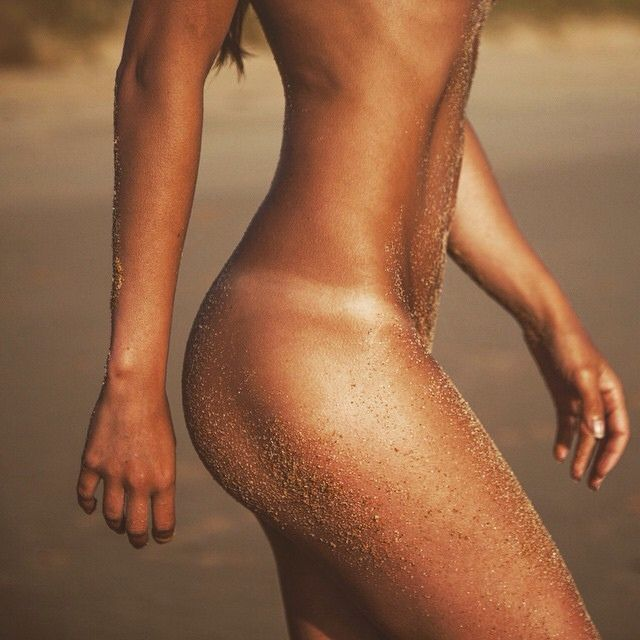 Tanned + toned