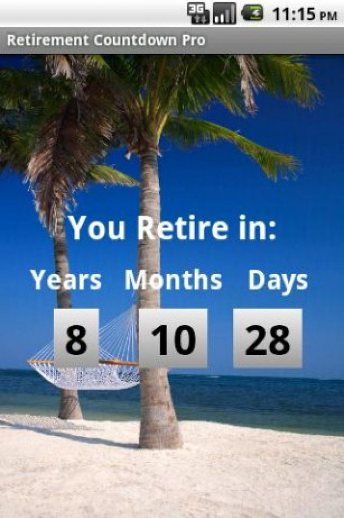 Retirement Countdown - Android Apps on Google Play