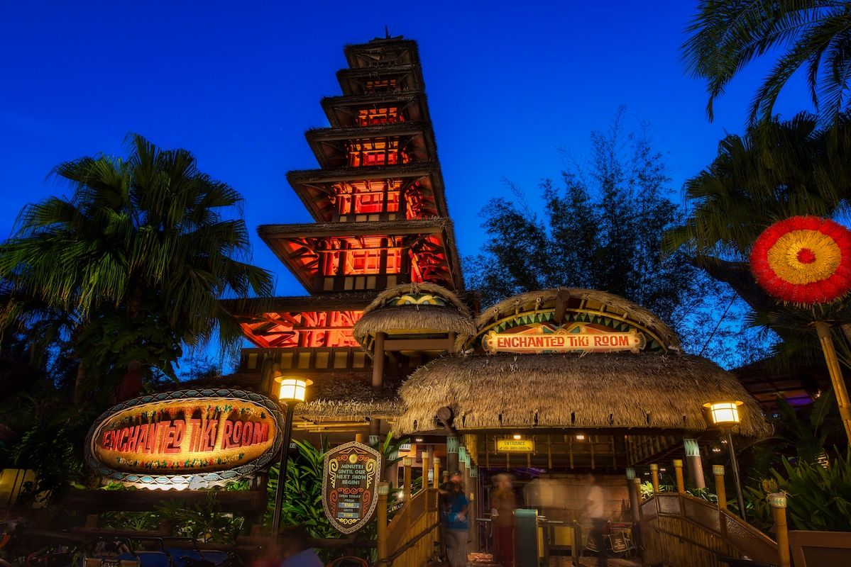 The Enchanted Tiki Room - All time FAV show at all of Disney World ...