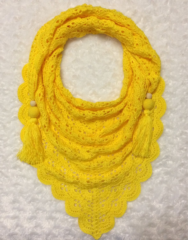 платок ажурный крючком схемы для начинающих