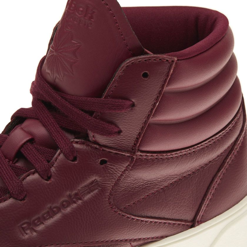 e049c941e0e Reebok Freestyle Hi Nova - Red