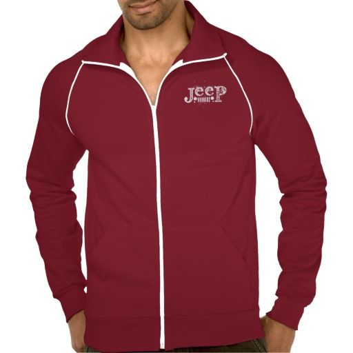 Christmas gift for the Jeep lover? Jeep Logo Full Zip Jacket available @ zazzle.com/jeepstyletees