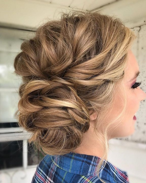 Wedding Hairstyle Inspirationmessy Wedding Hair Updos For A