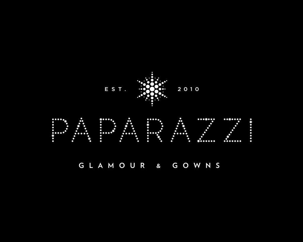 paparazzi glamour gowns logo logo design sprout design logos