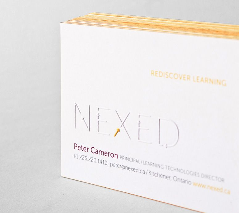 Nexed Business Card | Design | Pinterest | Business cards, Business ...