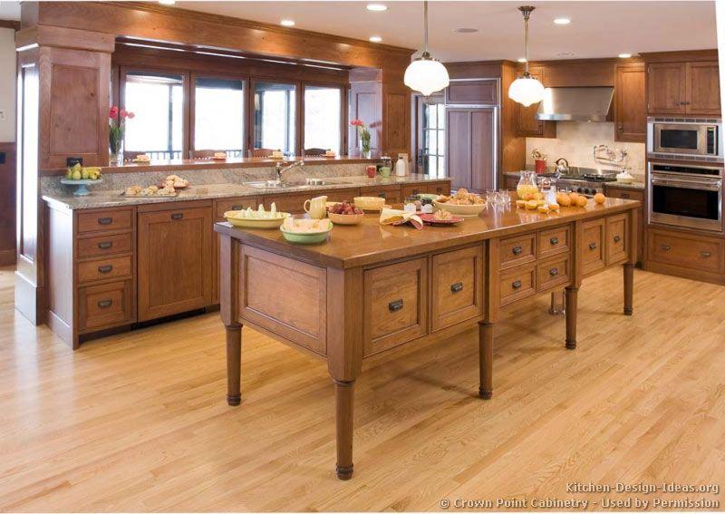 Shaker Kitchen Cabinets #08 (Crown-Point.com, Kitchen-Design-Ideas ...