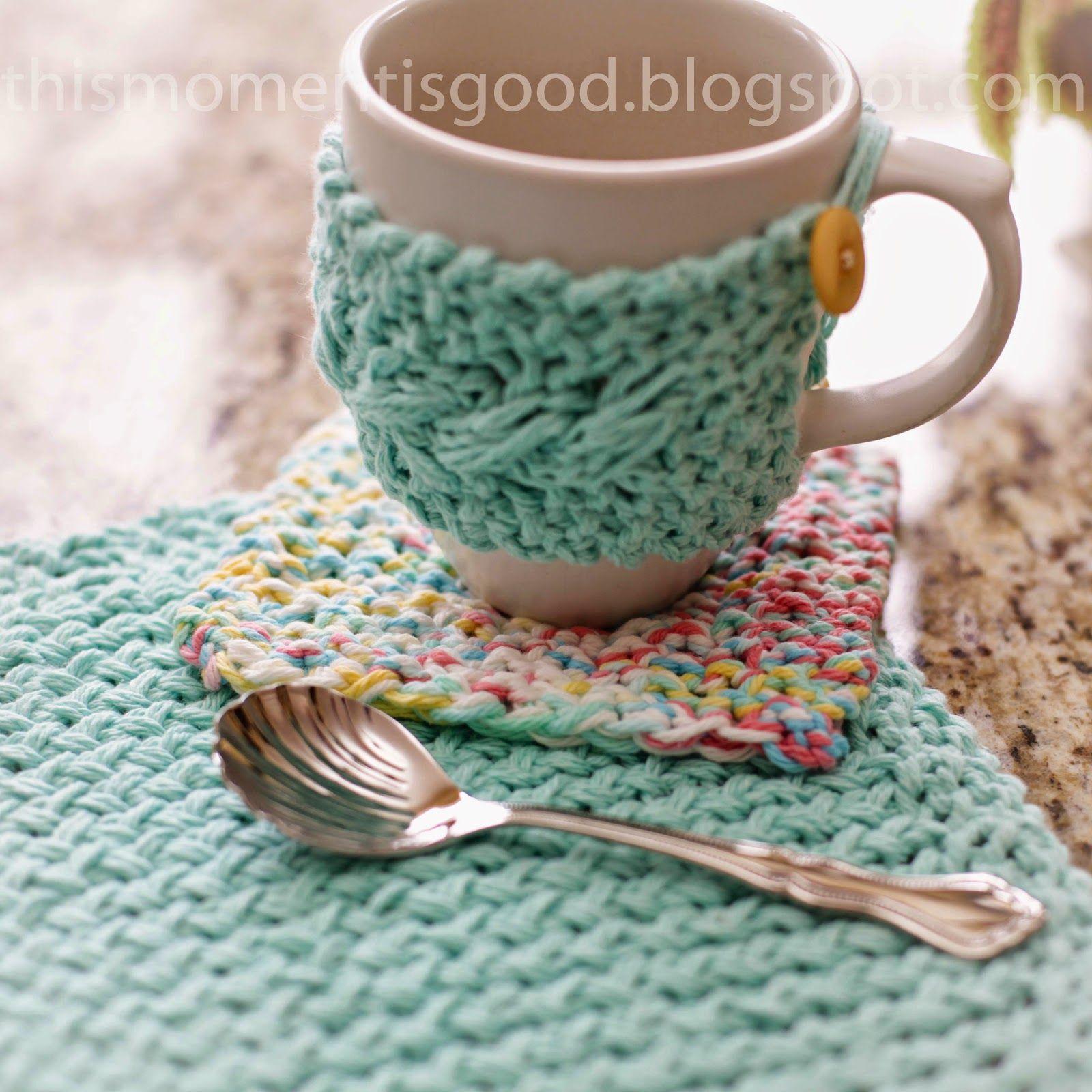 Free Loom Knit Kitchen Set Pattern Loom Crochet Round Loom