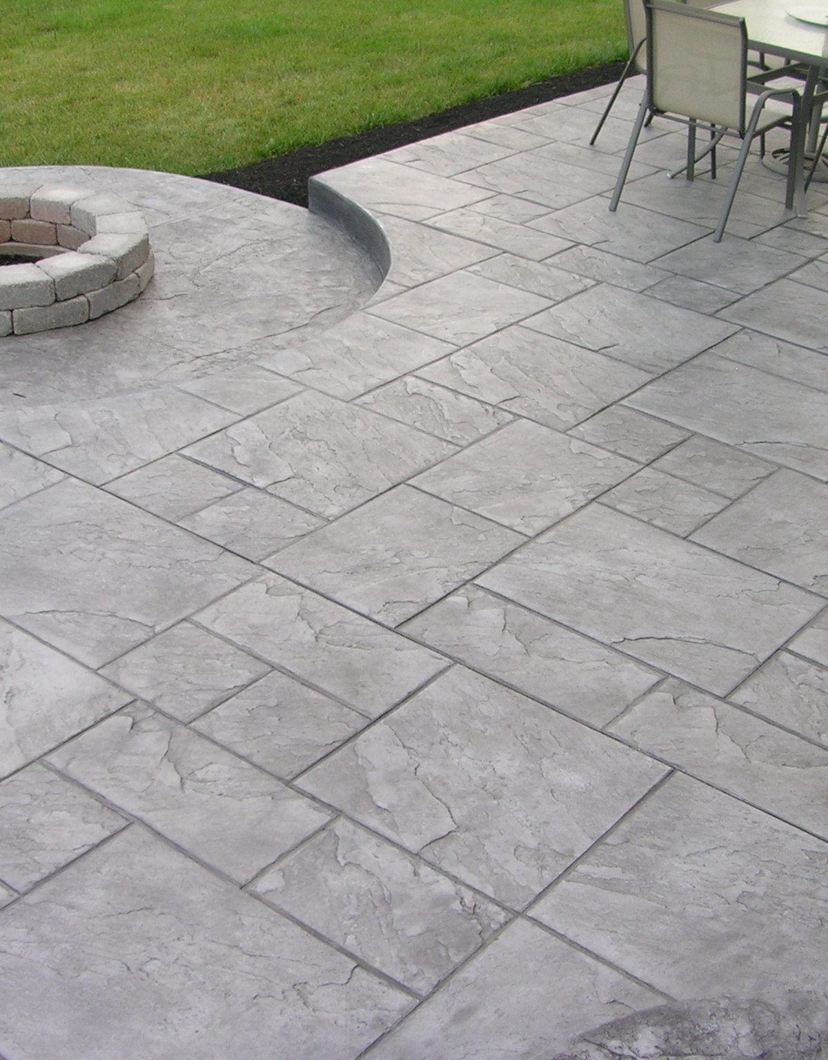 Stamped Concrete Patio Ideas To Bring Your Patio Backyard Or