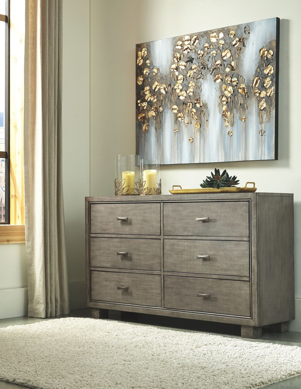 Best Arnett Gray Dresser Grey Bedroom Furniture Signature Design Furniture 640 x 480