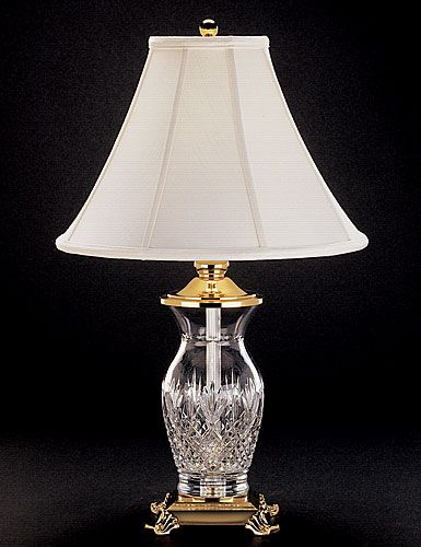 Waterford Crystal Killarney 26 Crystal Lamp Crystal Lamp Lamp Table Lamps For Bedroom