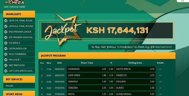 How to win Mcheza jackpot: Football betting tips, football
