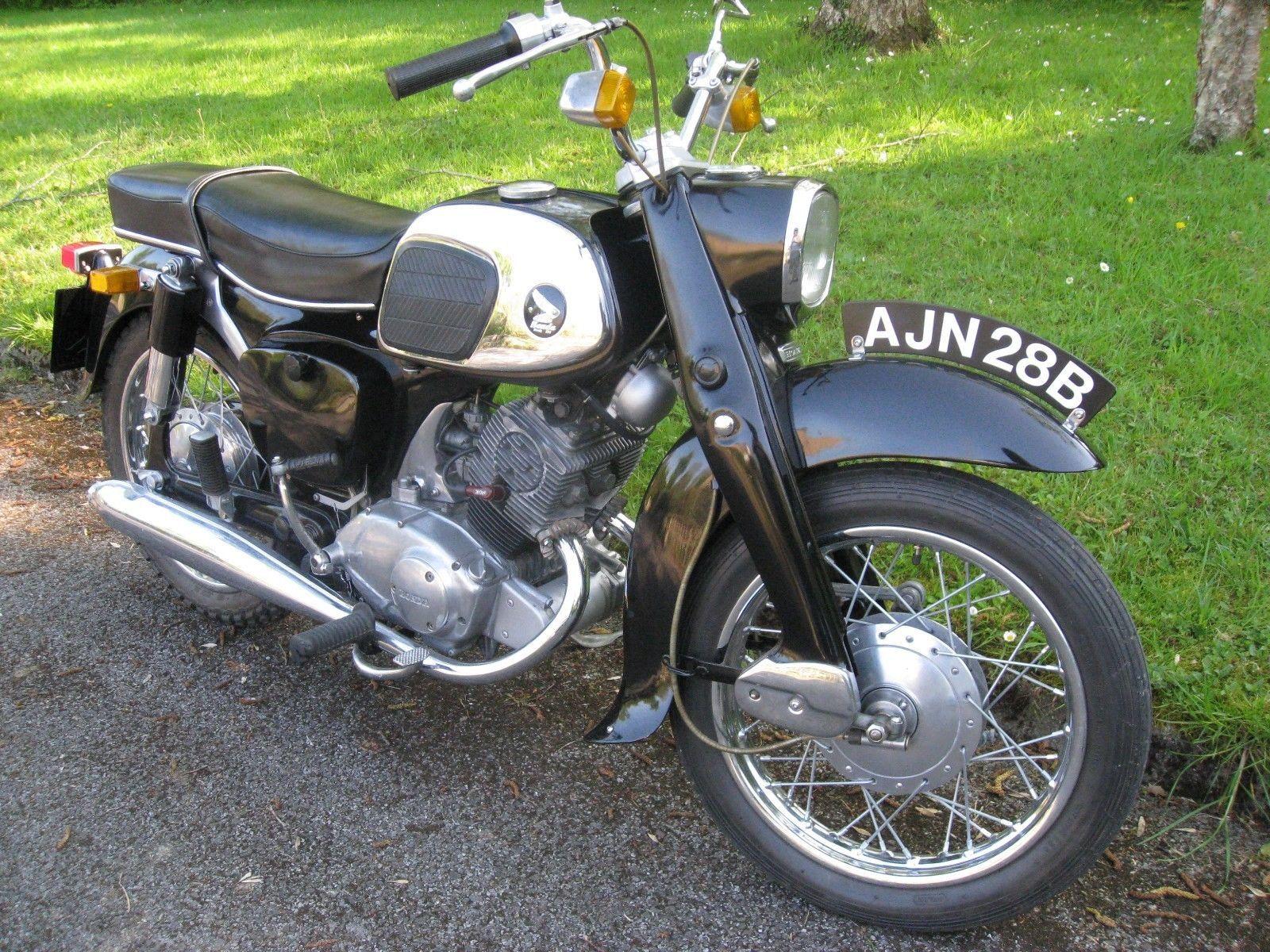 Ebay Honda Benly 1964 125cc Honda Bikes For Sale Classic Bikes