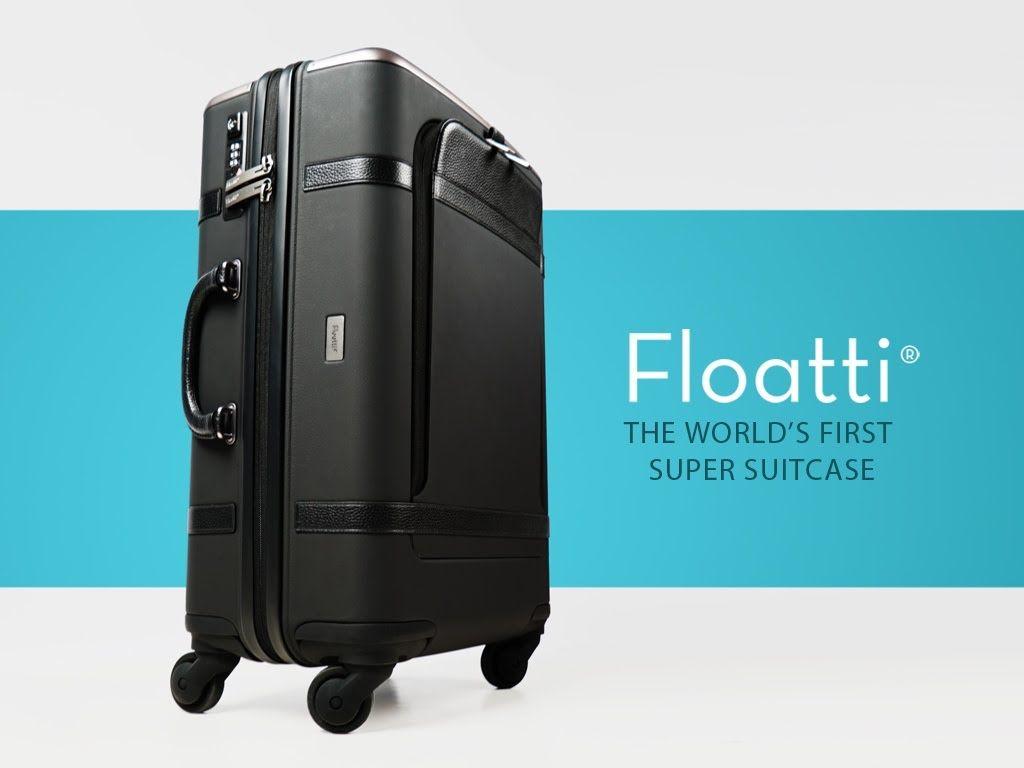 #Floatti, een slimmere koffer voor de moderne reiziger. Vol met innovaties, zoals handtas docking, superieure wielophanging en een groot aantal high-tech functies, bediend vanaf de intuïtieve Smart Handle https://youtu.be/8sSAGR4jDsQ