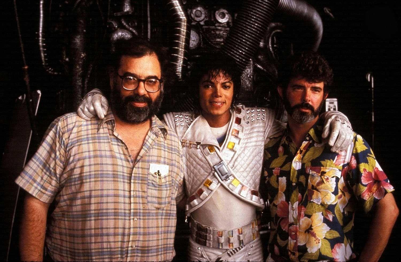 Francis Ford Coppola Michael Jackson And George Lucas Rare Weird Awesome Celebrity Photos Rare Celebrity Photos Michael Jackson Images Michael Jackson