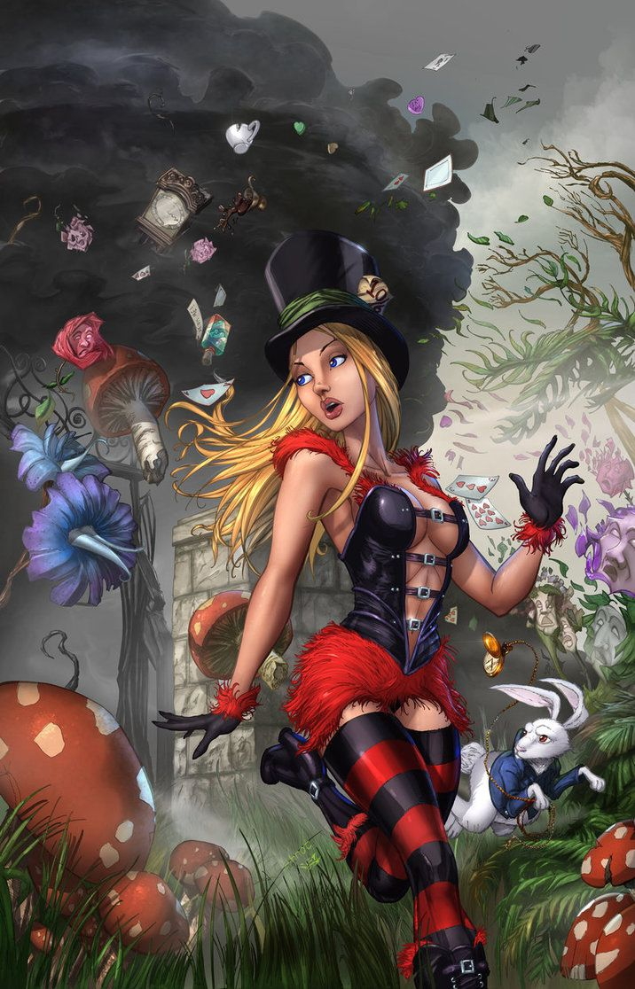 Алиса в стране порно фантазий