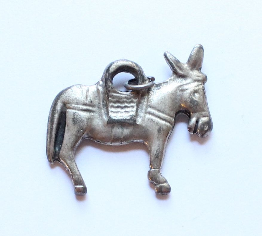 Vintage Ethnic Donkey Pendant by paststore on Etsy