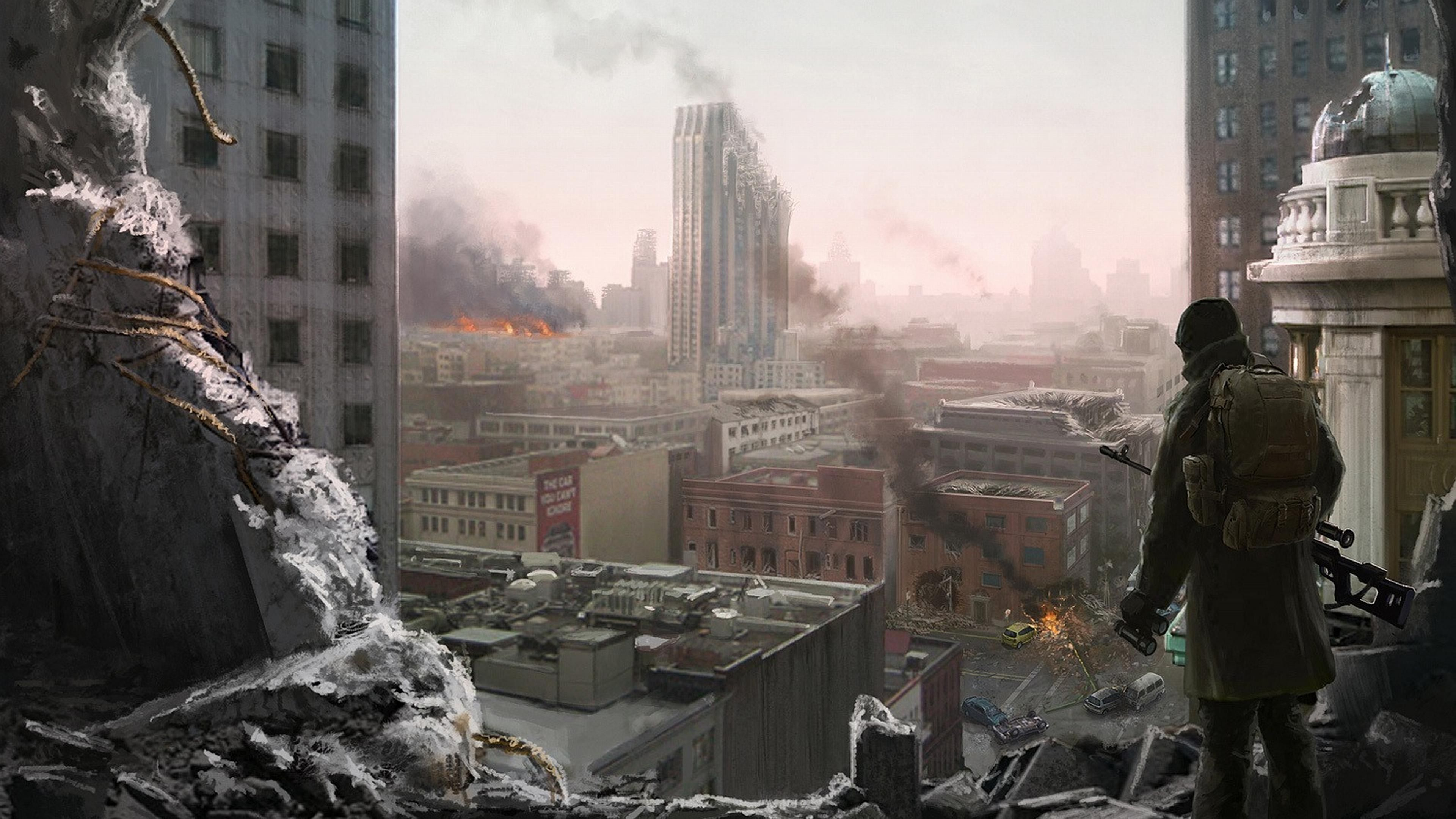 apocalyptic city wallpaper - photo #9