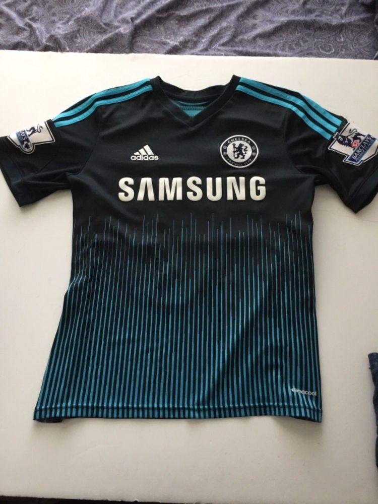 wholesale dealer f8682 bf42a Adidas Climacool SAMSUNG Chelsea Football Jersey Hazard #10 ...