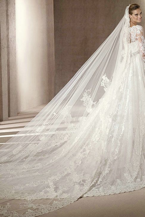 Vintage Bridal Gowns with Sleeves