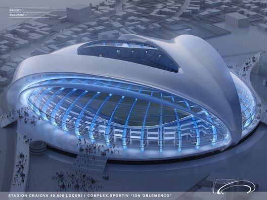 Football Stadium Concept Art