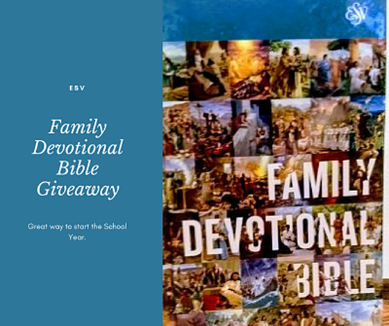 Welcome to the: Family Devotional Bible Giveaway & Wrapping Up Summer Giveaway Hop Hosted by Mama The Fox 8/16-8/31 I'm happy to bring you this giveaway. With