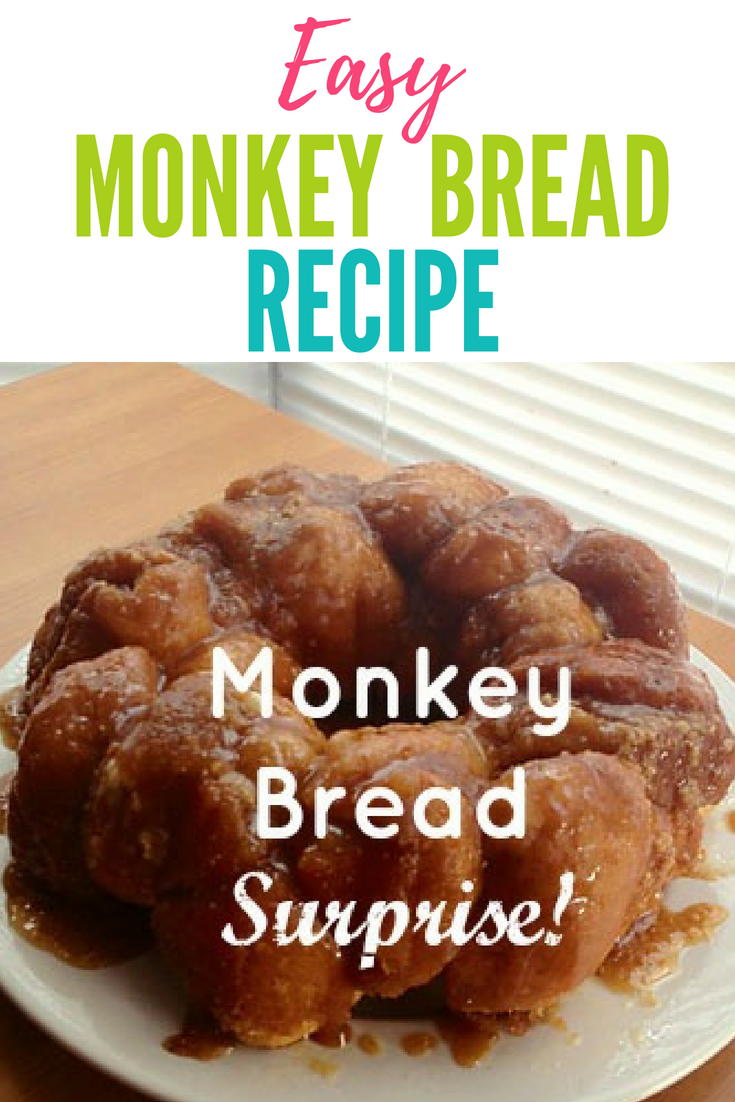 Monkey Bread Recipe - With A Surprise Stuffed Inside!