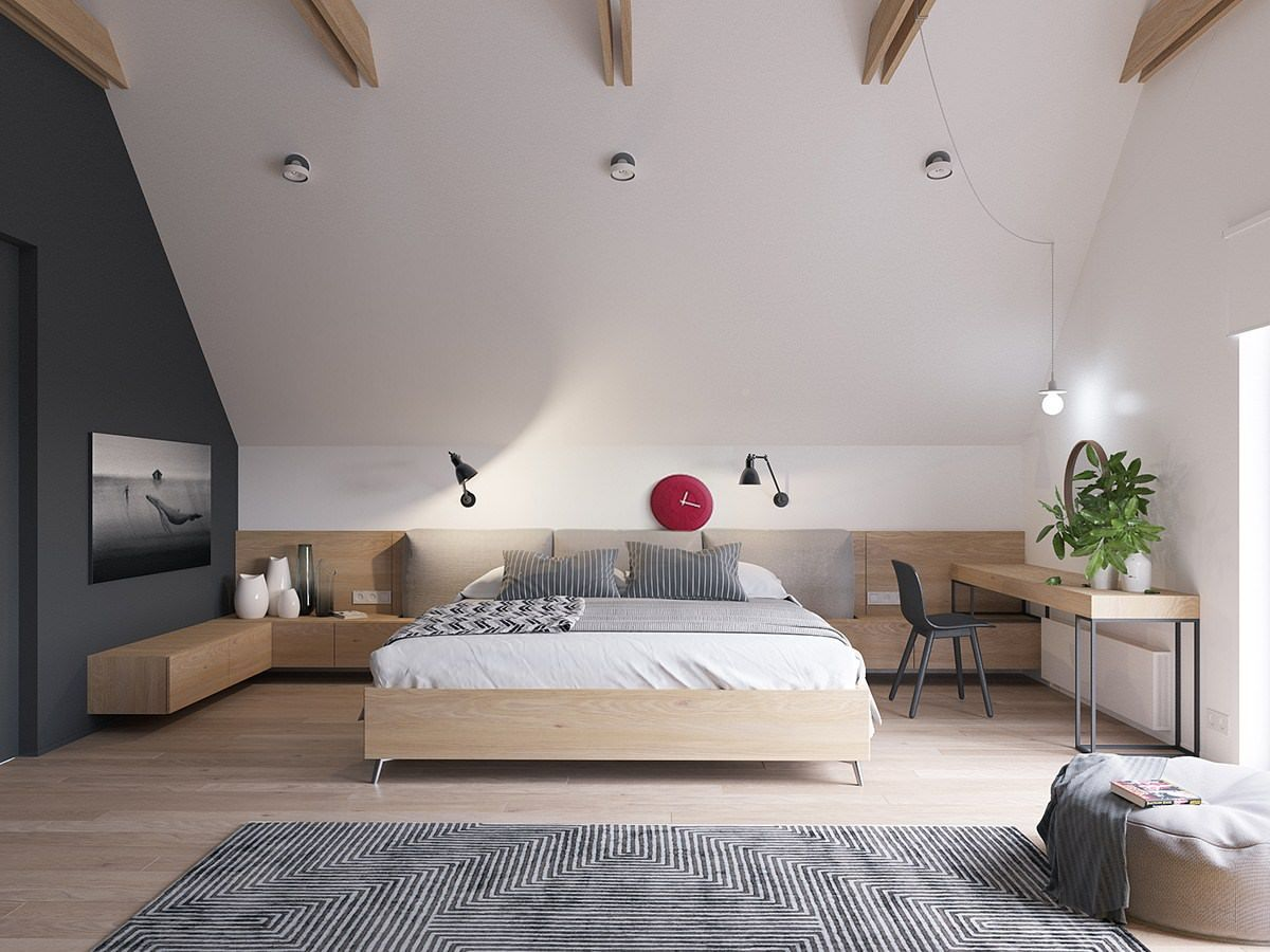 Originale Appartamento Stile Scandinavo Moderno Design Nordico