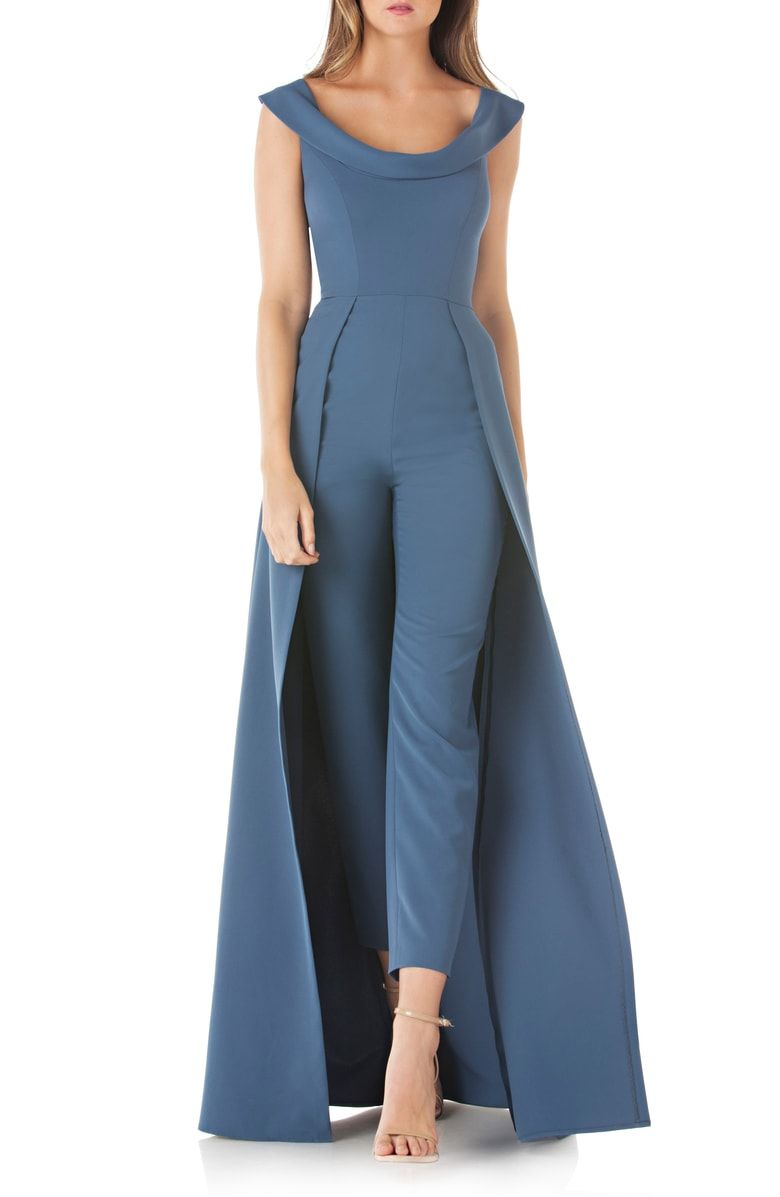 96d5a8441497 Free shipping and returns on Kay Unger Jumpsuit Gown at Nordstrom.com. Make  an unexpected and unforgettable entrance in this jumpsuit with a  full-length ...