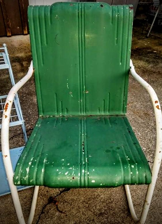Mid Century Cleveland Welding Vintage Metal Chair. See History At  Www.midcenturymetalchairs.