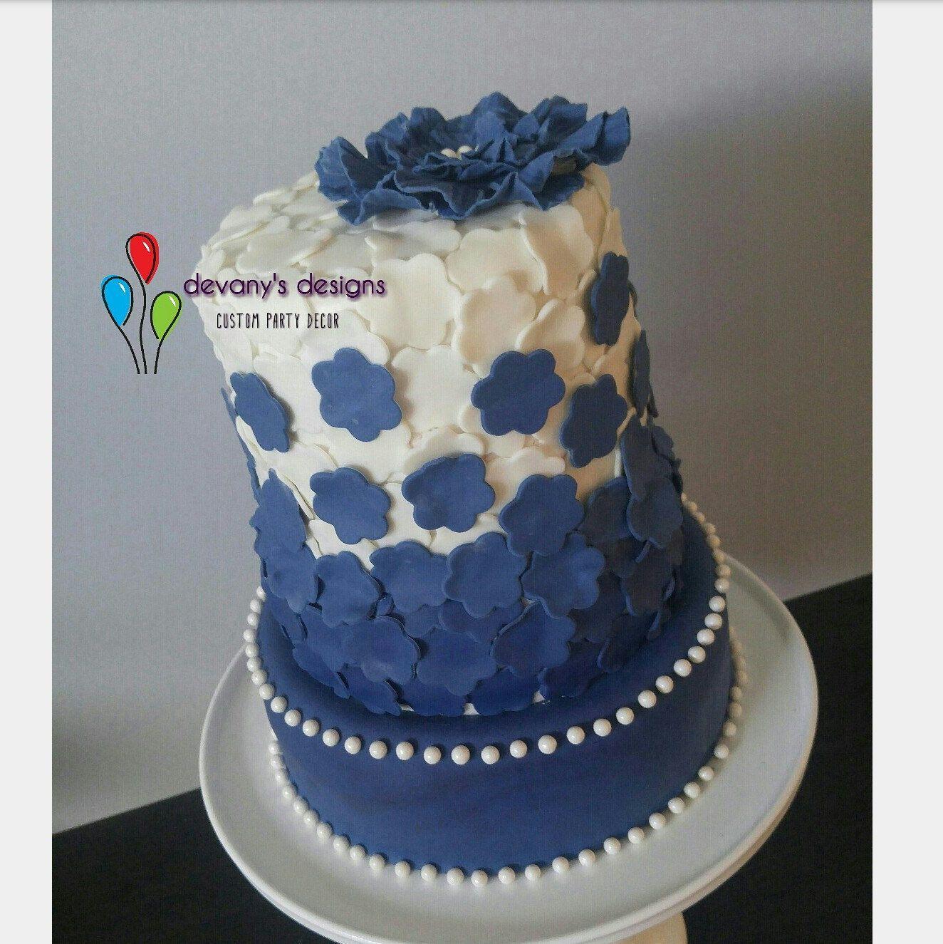 Giant Flower Cake Embelishment Large Flower Cake Topper Edible