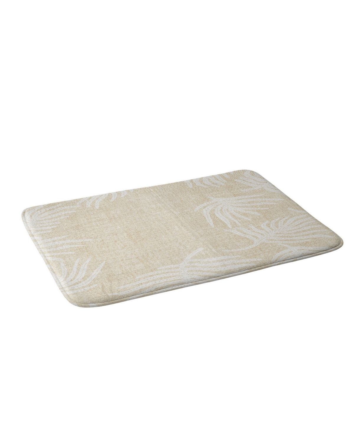 Deny Designs Holli Zollinger Palm Linen Bath Mat Reviews Bath