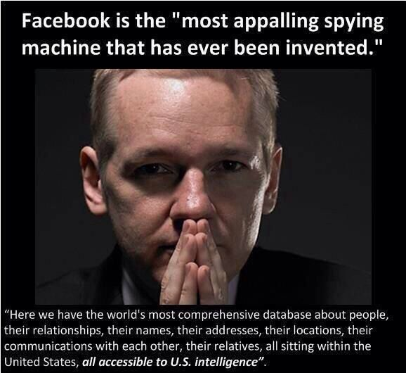 FaceBook is the most appalling spying machine ever invented