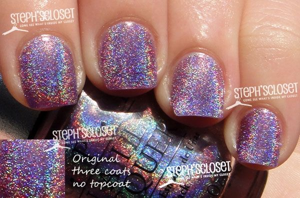 Opi Ds Original No Longer Available But Oh So Pretty Nail Polish Brands Holographic